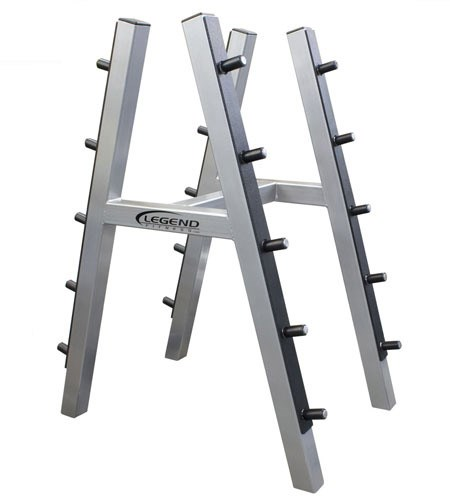 ten barbell rack
