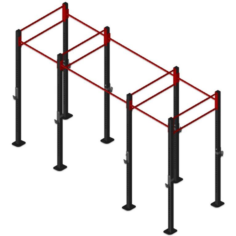 14-foot free-standing continuum rig package
