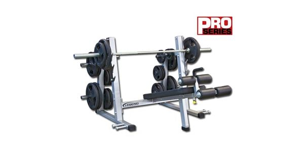 pro series olympic decline bench