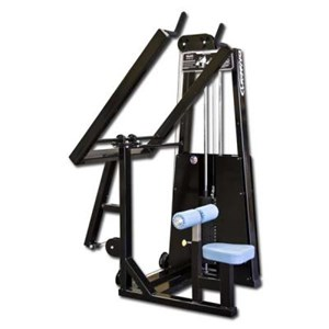 lever lat pulldown